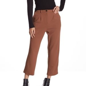 NWT front pleat ankle pants